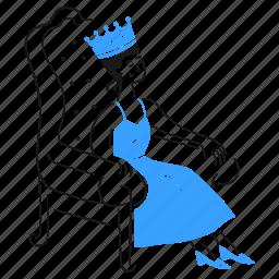 vip, queen, royal, woman, queendom, important, influencer