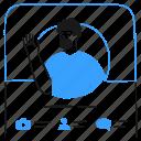 profile, picture, photo, man, app, information, social icon
