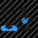 rating, rate, check, ok, okay, reputation, feedback icon