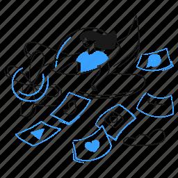 share, send, plane, tweet, facebook, twitter, social
