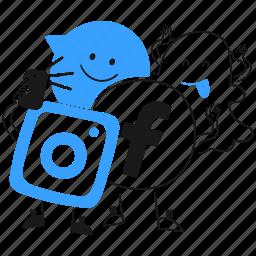 social, media, network, facebook, instagram, snapchat, messenger