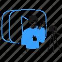vlog, social, media, daily, stream, video, youtube icon
