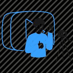 vlog, social, media, daily, stream, video, youtube
