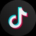 tiktok, social media, apps, logo