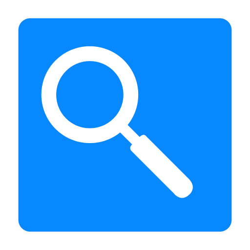 search, view, zoom icon