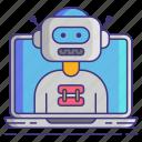 bot, computer, technology icon