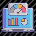 indicator, kpi, performance, seo icon
