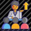 mentor, mentorship, team, teamwork icon