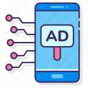 ad, advertising, mobile, phone, tech