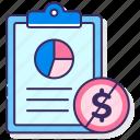 media, money, proposal icon