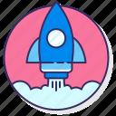 launch, media, rocket, space