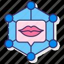 lips, media, networks, social icon