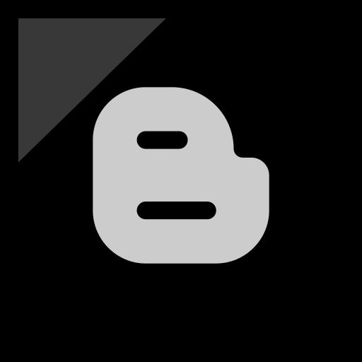 blogger, company, logo, media, social icon