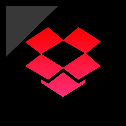 company, dropbox, logo, media, social icon