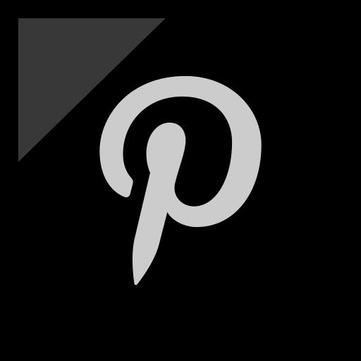 company, logo, media, pinterest, social icon