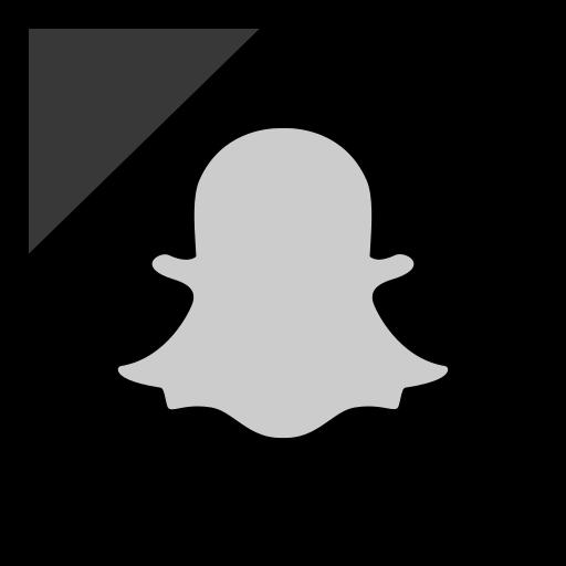 Company, logo, media, snapchat, social icon - Free download