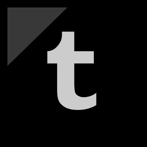 company, logo, media, social, tumblr icon