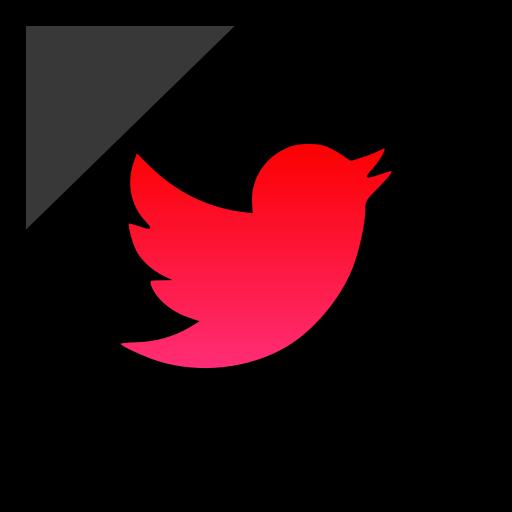 company, logo, media, social, twitter icon