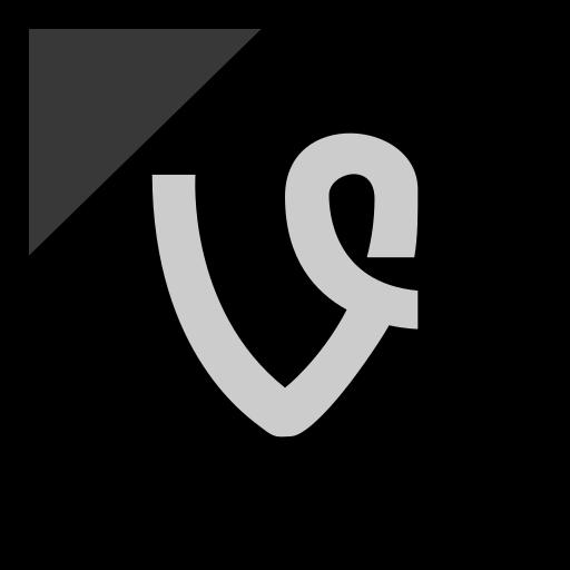 company, logo, media, social, vine icon