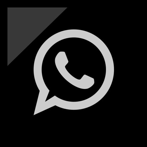 Company, logo, media, social, whatsapp icon - Free download