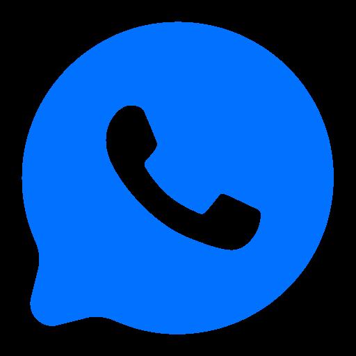 communication, media, social, whatsapp icon