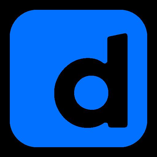 d, media, network, social icon