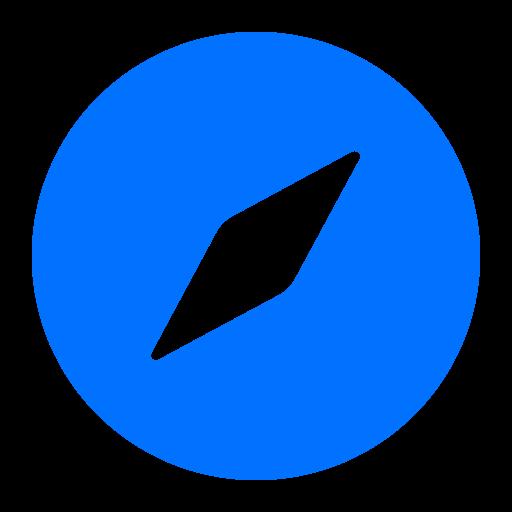 browser, network, safari, social icon