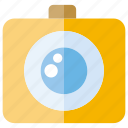 camera, lens, photographer icon
