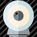 camera, device, electronics, record icon