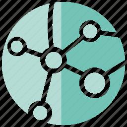 globe, link, world icon