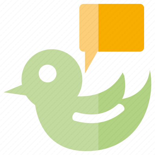 bird, chat, speech, talk icon