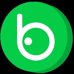 badoo, communication, internet, media, online, social, social media icon
