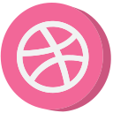 ball, dribbble, media, social, social media, socialmedia, website icon