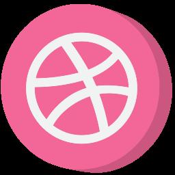 ball, dribbble, media, social, social media, socialmedia, website icon