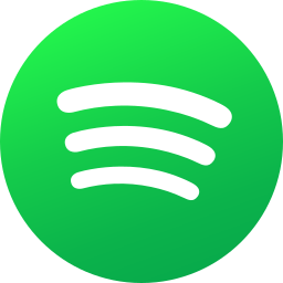 circle, colored, gradient, media, social, social media, spotify icon