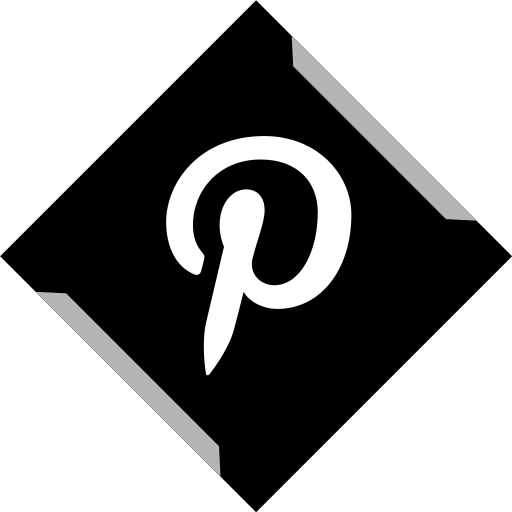media, online, pinterest, social icon