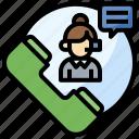 call, customer, support, telemarketer, user