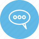 chat, discuss, discussion, hangout, speak icon
