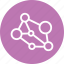 family, freinds, graph, graph icon, social, social graph icon