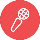 campaign, mic, microphone, sing, speak, speaker icon