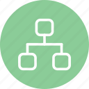 family tree, freinds, graph, social, social media, tree icon