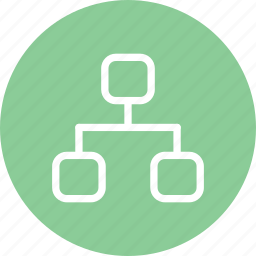 family tree, freinds, graph, social, social media, tree icon