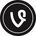 logo, media, social, vine icon