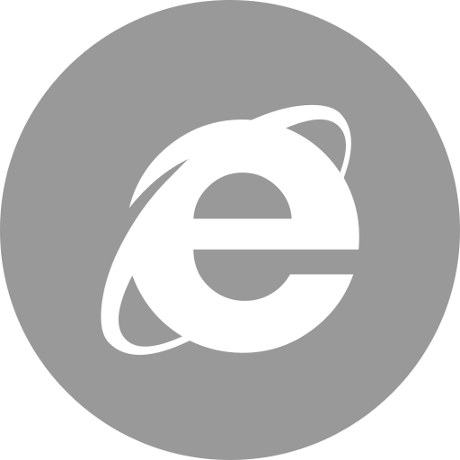 explorer, media, online, social icon