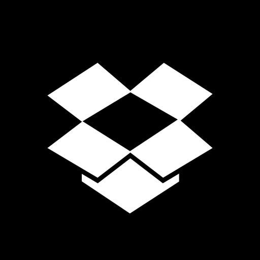 box, drop, media, online, social icon