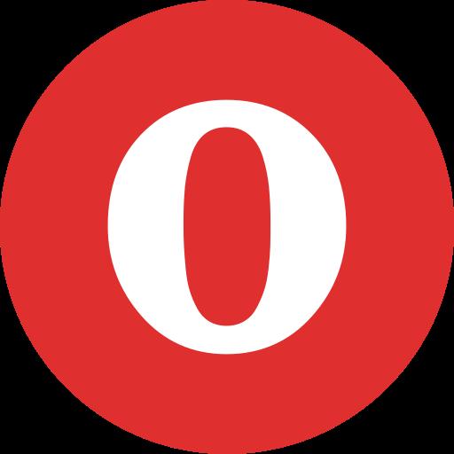 media, online, opera, social icon