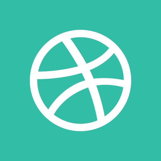 dribbble, media, online, share, social icon