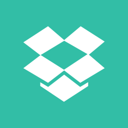 box, drop, media, online, share, social icon
