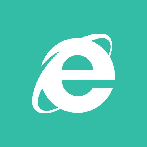 explorer, internet, media, online, share, social icon