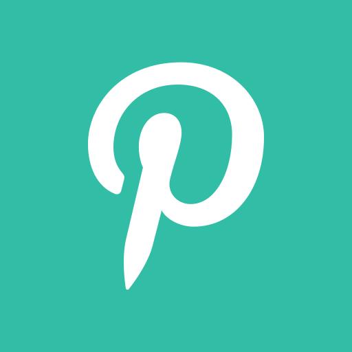 media, online, pinterest, share, social icon